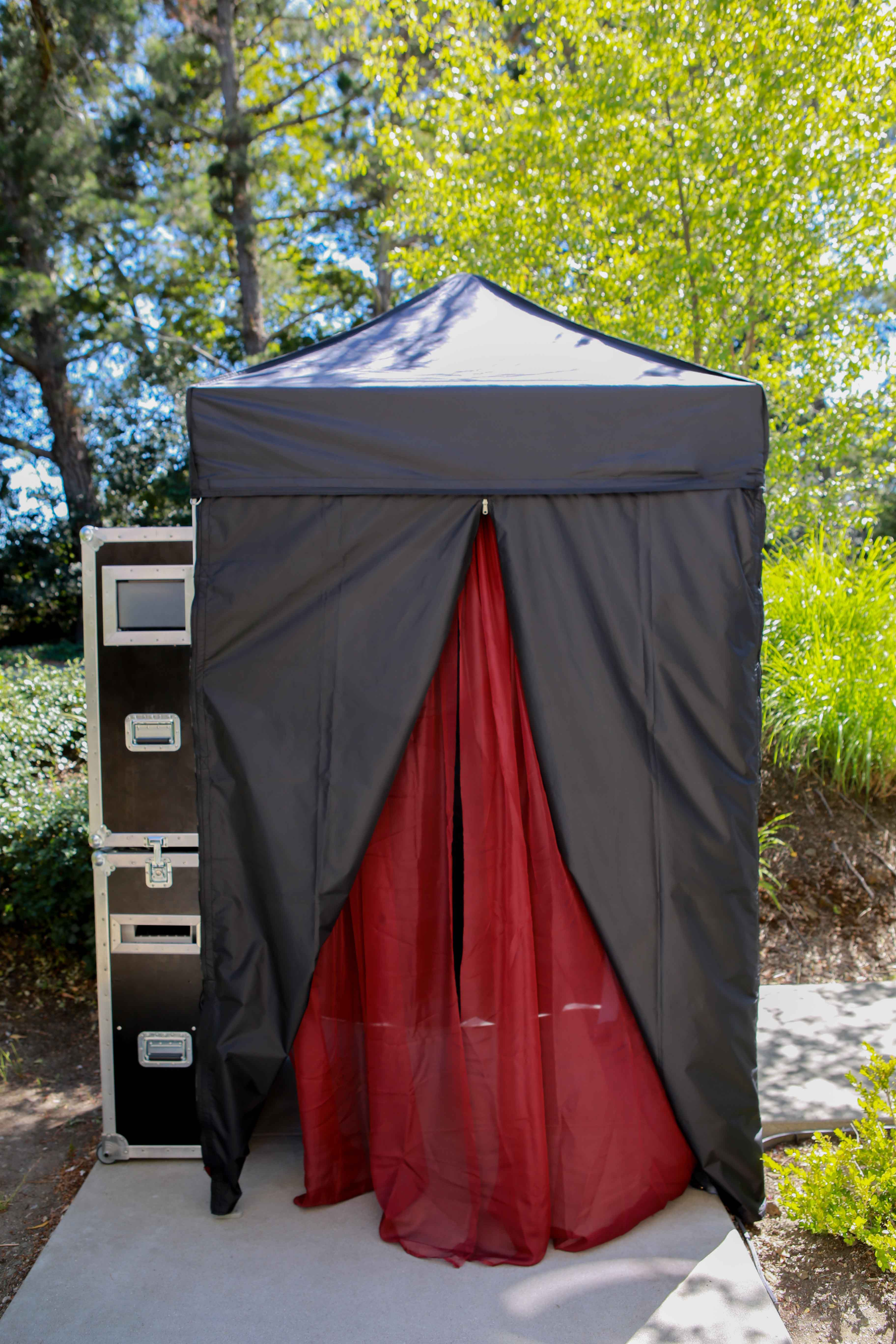 5×5 Canopy Outdoors Booth & 5x5 Canopy Outdoors Booth - LC Photo Booths